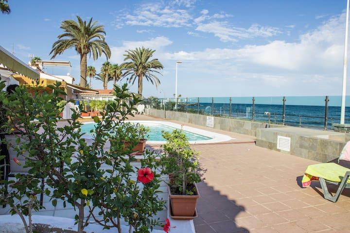 """Lovely Casa en Playa del Veril"" - San Bartolomé de Tirajana - House"