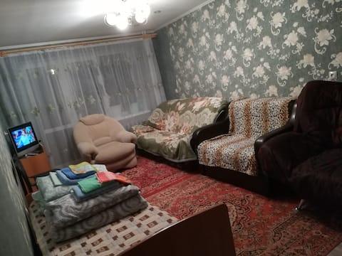 Квартира в посёлке Уралец, рядом ГК Гора Белая.