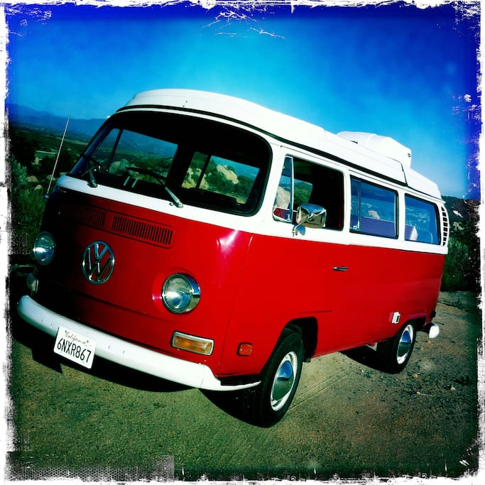 This is her, 73 VW Bus
