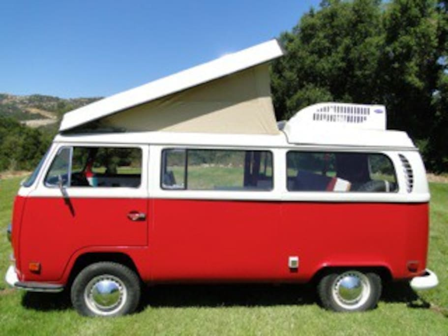 71 Vw Camper Bus Inside Warehouse Lofts For Rent In