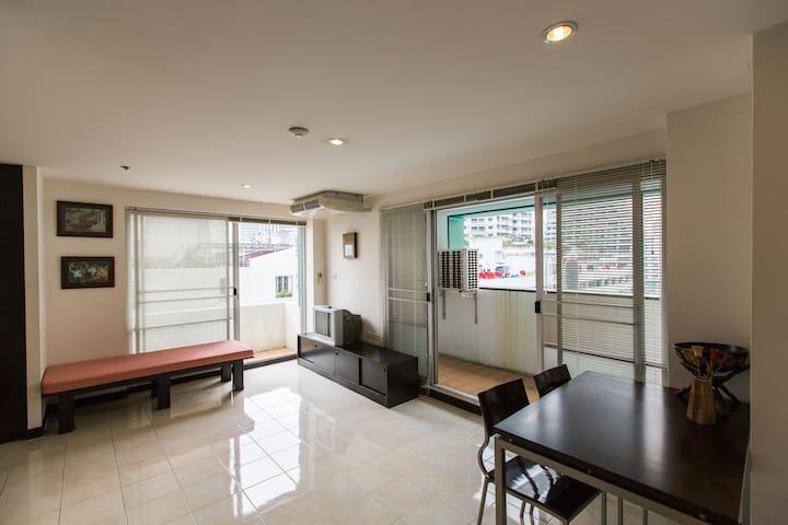 Entire Studio center of Bangkok - Bangkok - Departamento