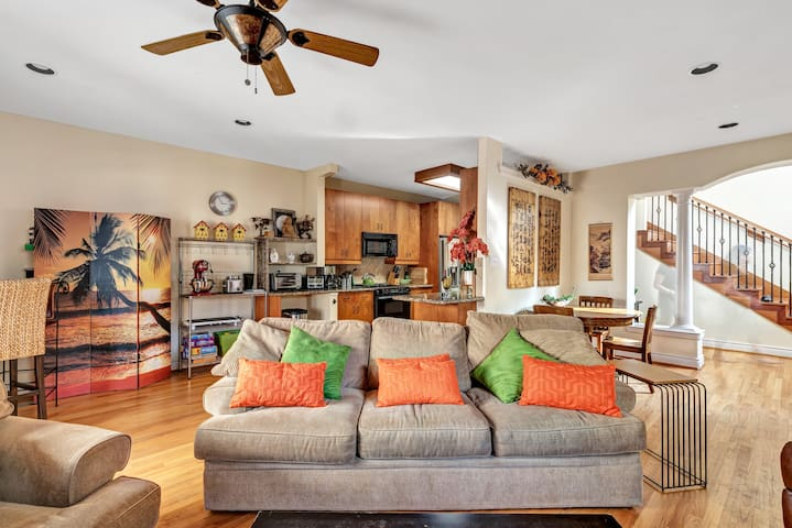 Bright, Central, Family-Friendly 3 Bdrm w/ Parking