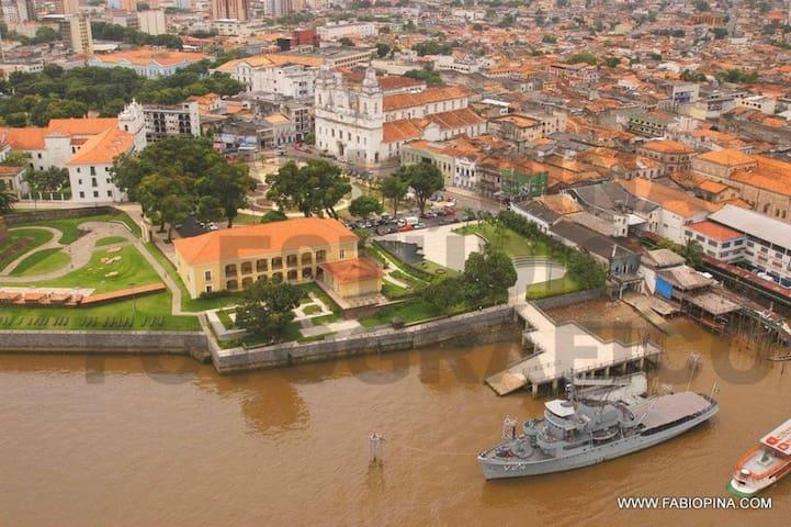 Complexo Feliz Lusitânia (Forte do Presépio, Museu de Arte Sacra e Catedral da Sé) - 30 minutos andando ou por linha especial com ponto na frente da casa