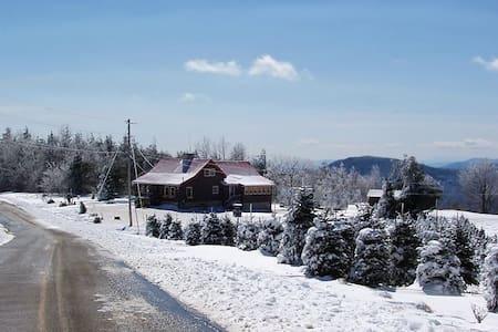 Log Cabin, Panoramic Mountain Views in NC, 4-Bdrm - Jonas Ridge