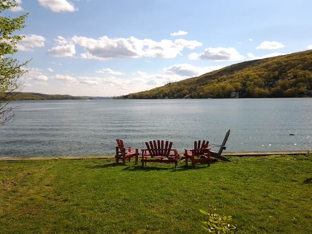 Lakefront Home Greenwood Lake - Greenwood Lake - Rumah