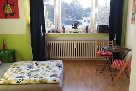 Großes Zimmer nahe Rhein & Bahnlinie - Köln - Apartment - 2