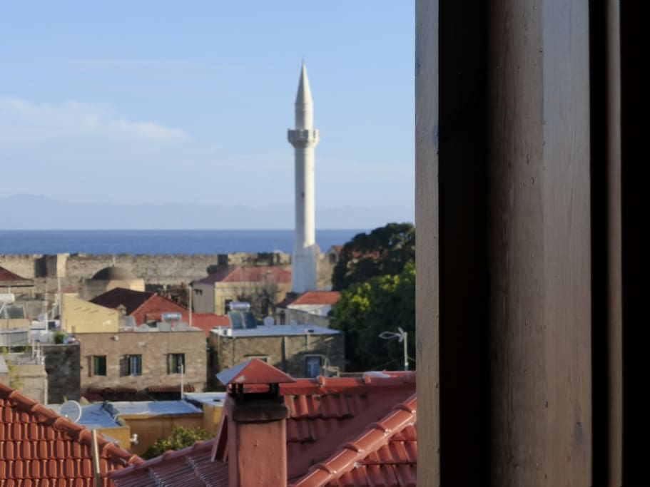 Lovely views across Rhodes town