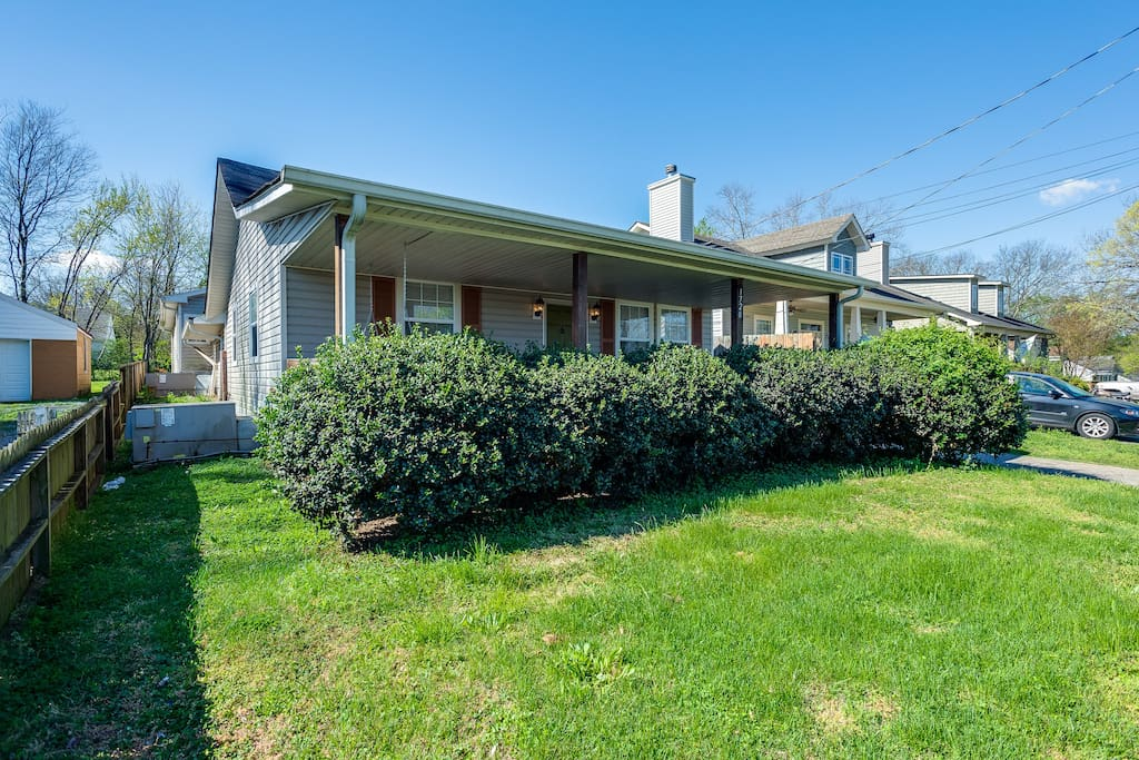 Your home is located in trendy East Nashville