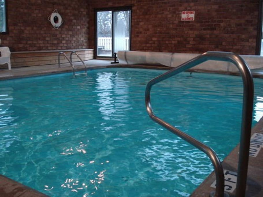 Be sure to bring your suit for a dip in the heated indoor pool.