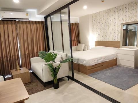 位置好的豪华小区新房间, La Casita Hua Hin(华欣)