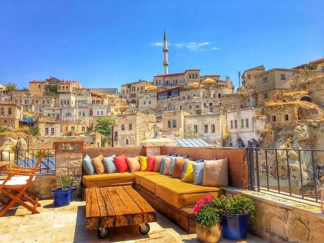 Stylish Cappadocian Cave Hotel