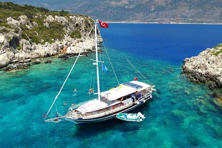Luxury Blue Cruise with Crew - Kaş - Boat - 0
