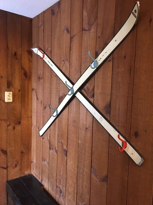 Mudroom hallway for all your ski gear