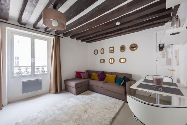 Charming studio in famous area, Saint Germain - Paris - Apartmen