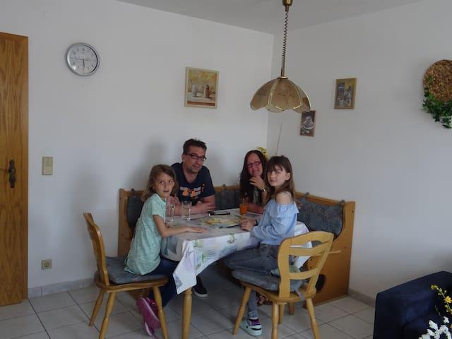 Ferienhaus Enzner (Muhr am See), FeWo mit Sonnenbalkon für 4 Personen