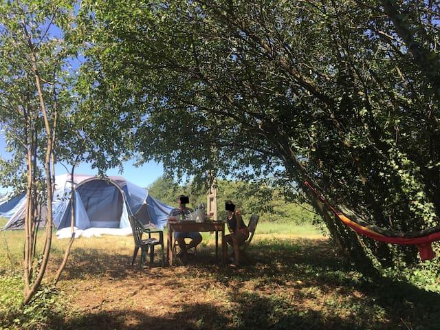 Camping à la ferme, au calme et au grand air !