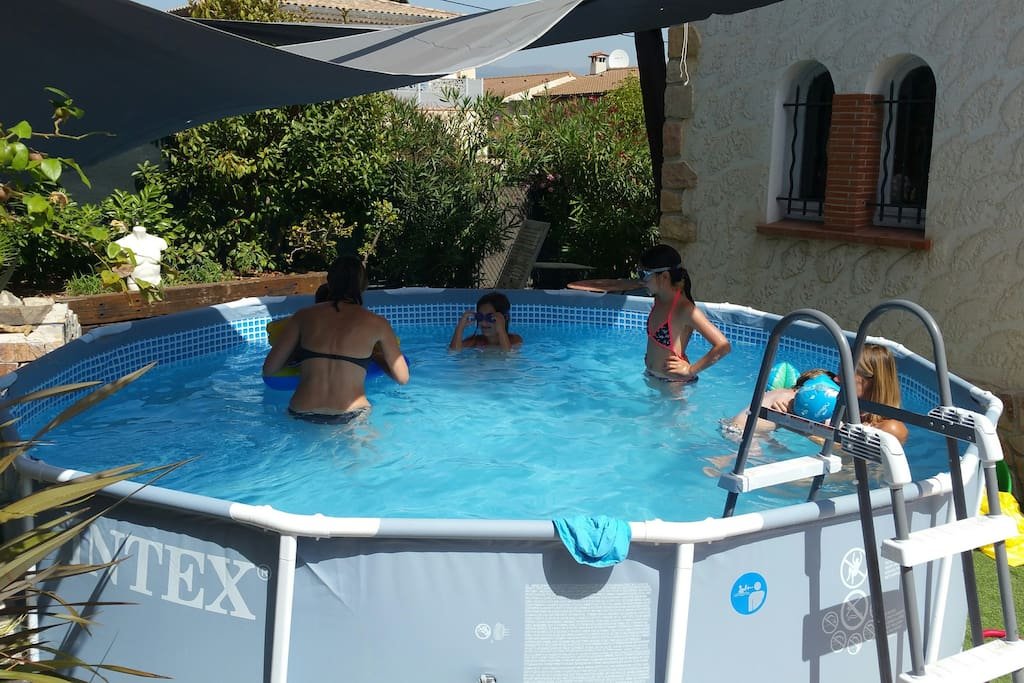 Pool for children and family