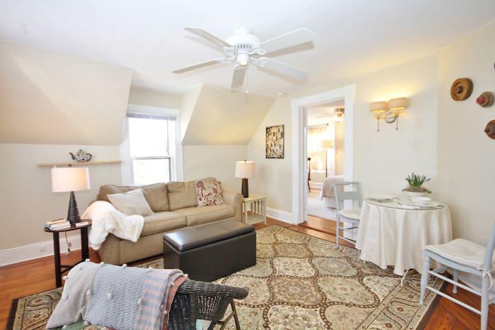 525+ EXCELLENT Reviews, Apt #3 WALK DTWN QUIET - Asheville - Apartemen
