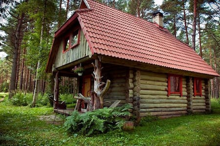 Holiday House with Sauna at Järve Cottages