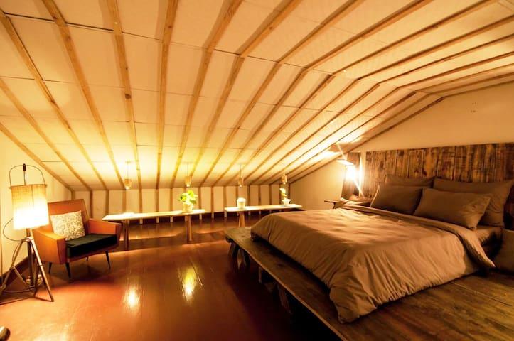 SecondHouse Loft bedroom