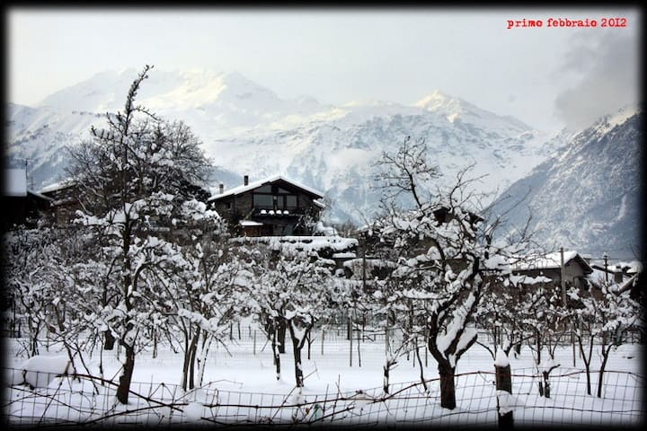 B&B Casa in Baita  VALSUSA WiFi - Gravere - Bed & Breakfast