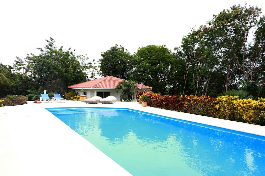 View  Pool and 2 Guest bedrs