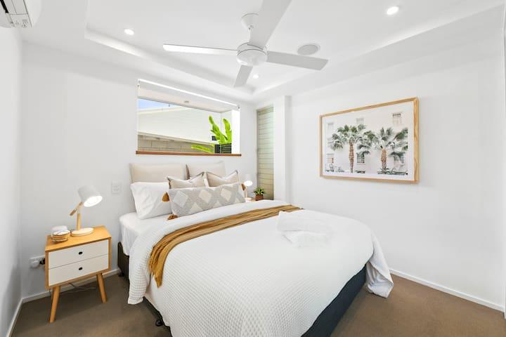 Bedroom three, Queen-size bed, total luxury!