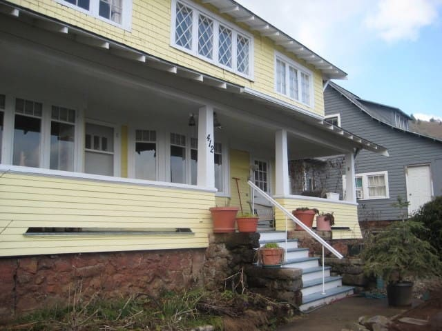 White Salmon Big Yellow House