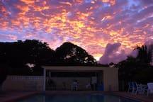 Sunset at Casa Ladera