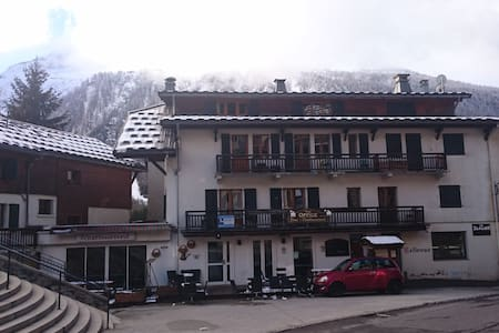 Apartment Bellevue - Grands Montets ski- sleeps 4 - ชาโมนิกซ์