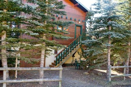 Chalet Bippo été/hiver Pyrénées 2000 - Bolquère - Almhütte