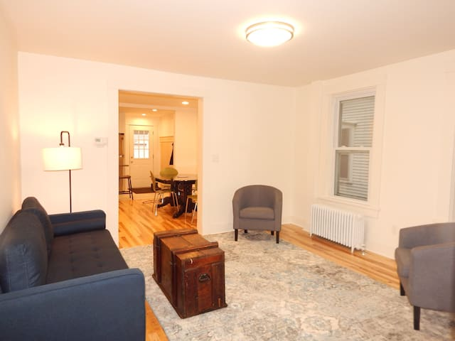 Renovated Hip Apartment with parking & laundry!
