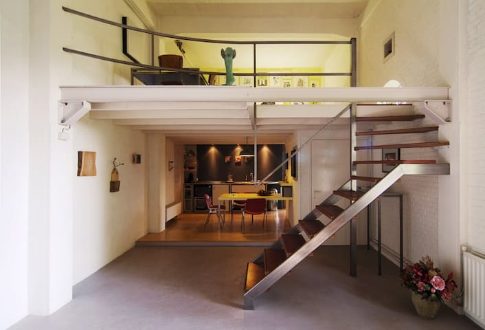 'The apARTment' - Den Oever - Rumah
