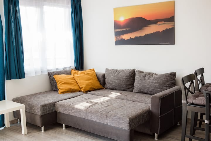 Aranyos guesthouse in the heart of Danube bend.