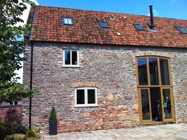 The Granary near Wells with on-site pool & spa - Dulcote - Casa