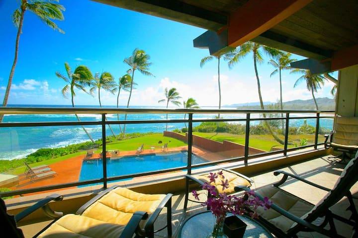Hale Awapuhi Ocean Front Villa 2F - คาปา - วิลล่า