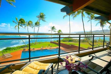 Hale Awapuhi Ocean Front Villa 2F - Kapaa