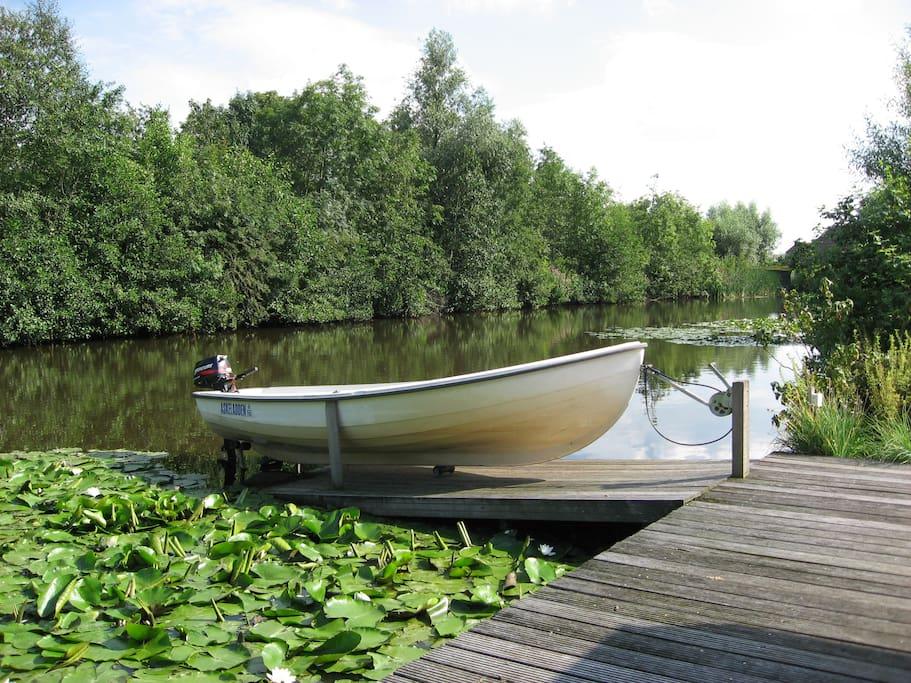 vissen/varen op water rondom Wilnis/Vinkeveen