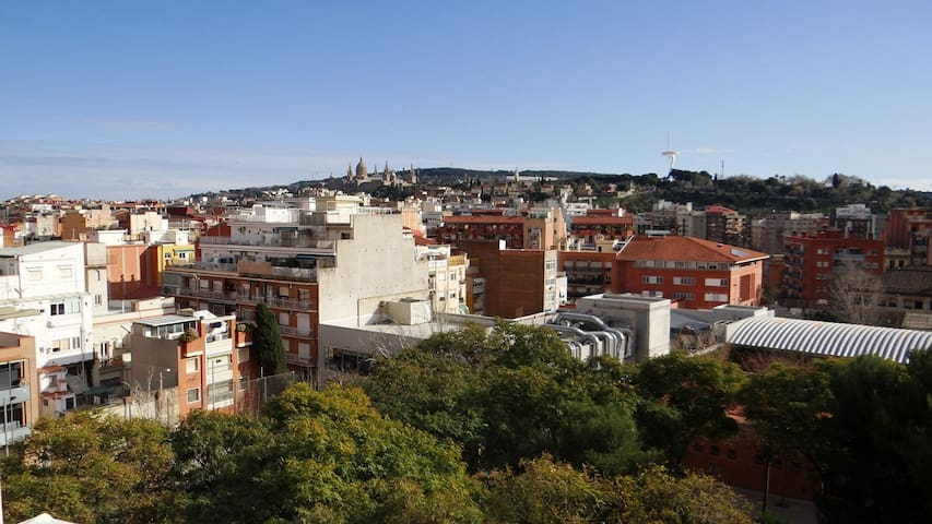 Unique Open Air Views Penthouse in Barcelona