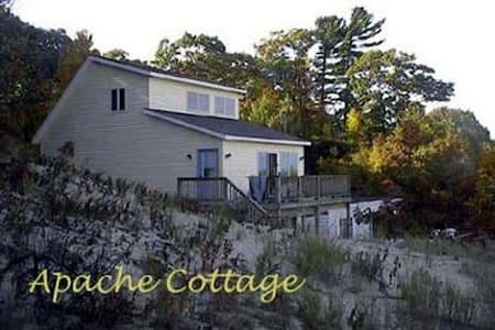 Apache Cottage, Lake Michigan Views and Beach