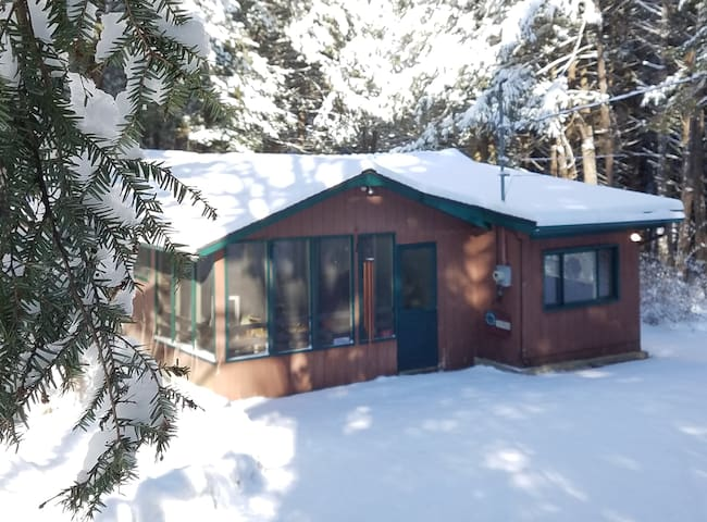Cozy cabin near wedding venues, hiking & more!