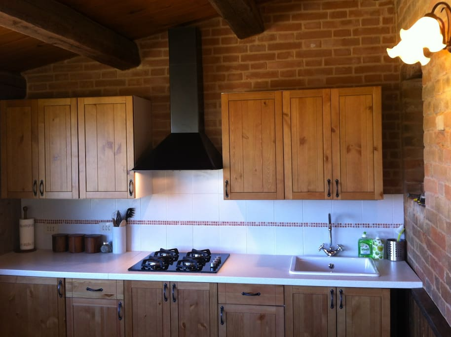 Your Kitchen in The Stables Apartment