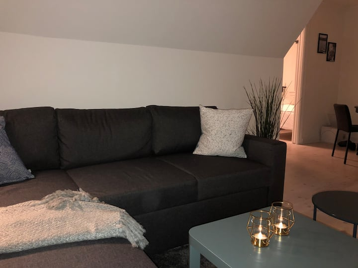 Flat, near CPH & public transport, free parking