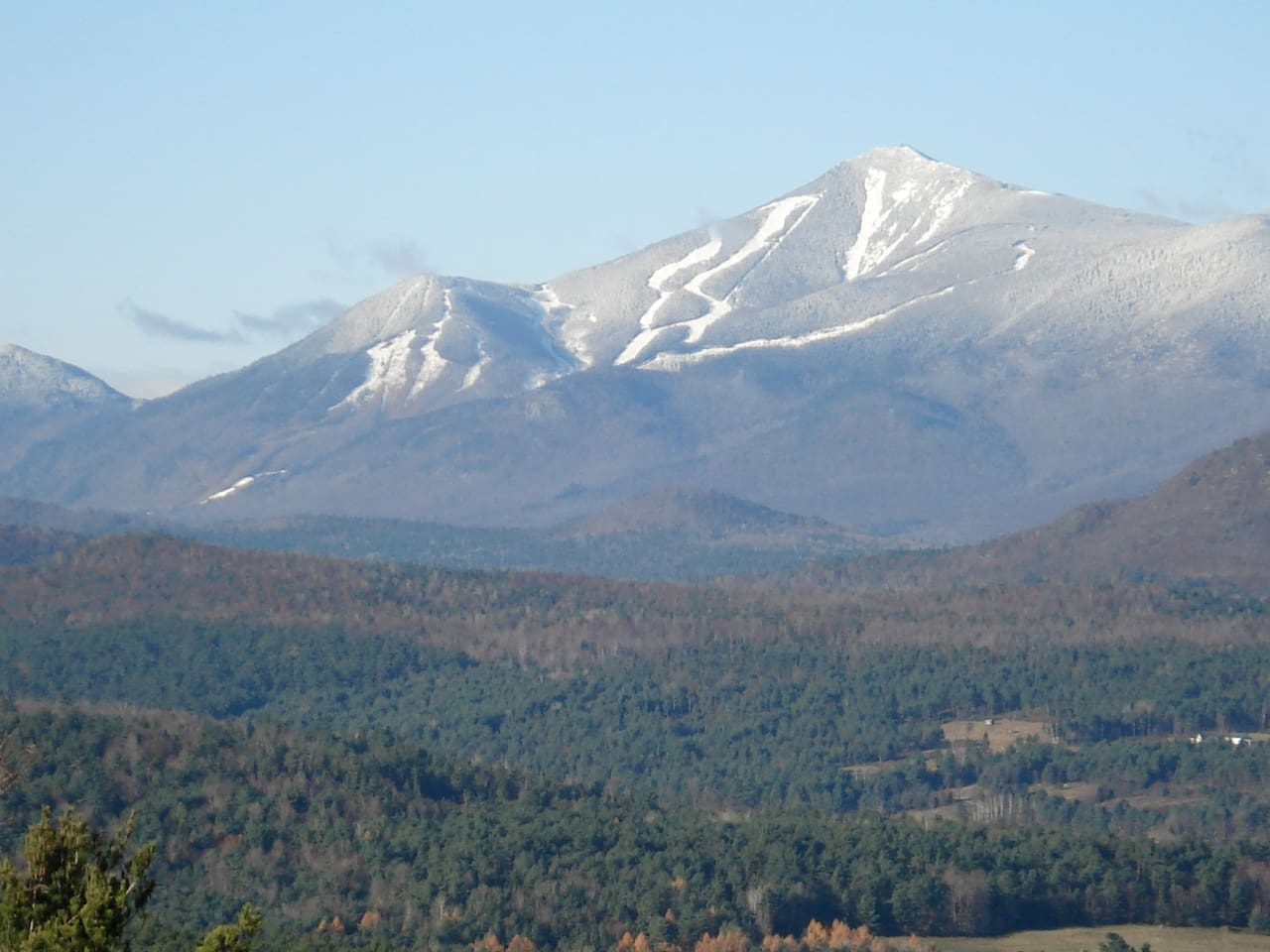 Views of Whiteface Skiing from property, Mt. is 15 min. West
