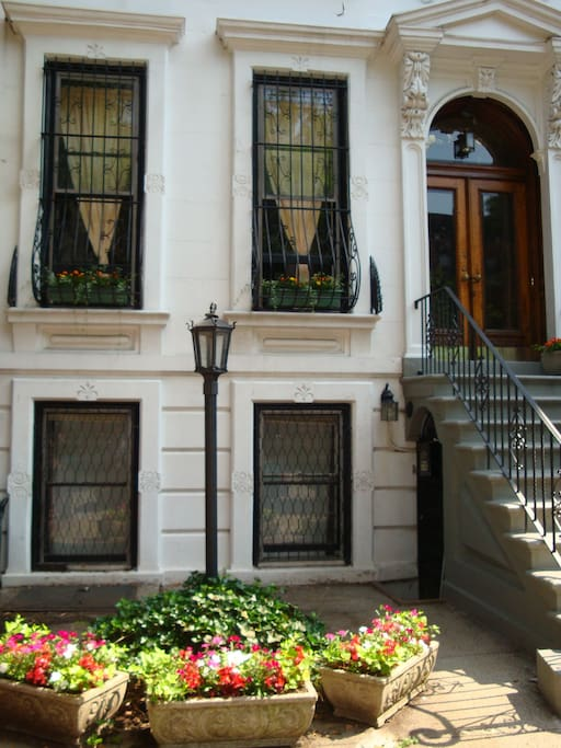 Our gracious home - a late 19th century brownstone in Prospect Heights (near Park Slope).