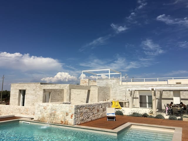 Villa in Salento with swimming pool. - Ugento - Casa de camp