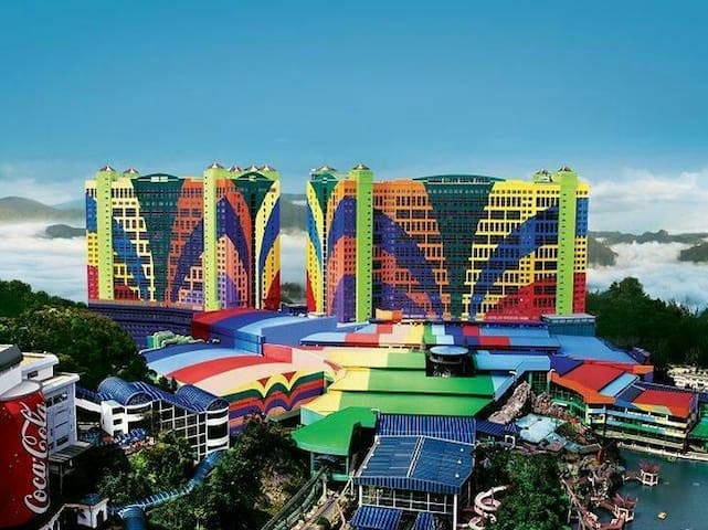 Rooms nearby Casino First World. - Genting Highlands - Apartment