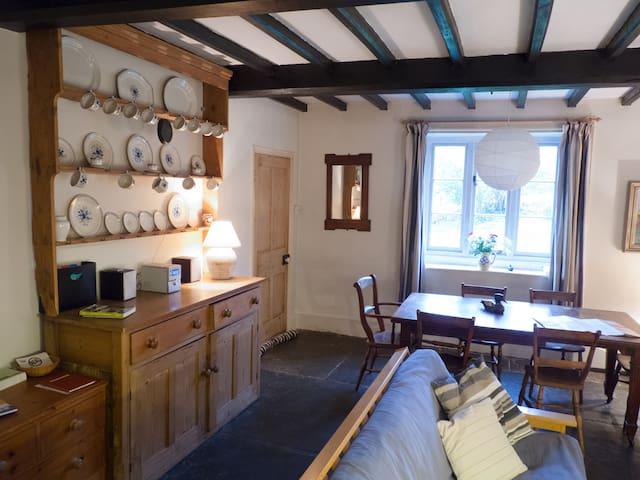 Lodge Cottage Living Room
