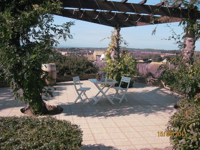 One-bedroom garden apartment - Caunes-Minervois - Lägenhet