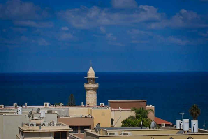 Jaffa sea-view apartment